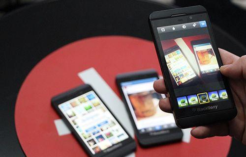 İnstagram Blackberry'de
