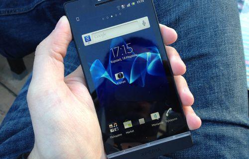 Sony Xperia'lar için hedefini açıklıyor