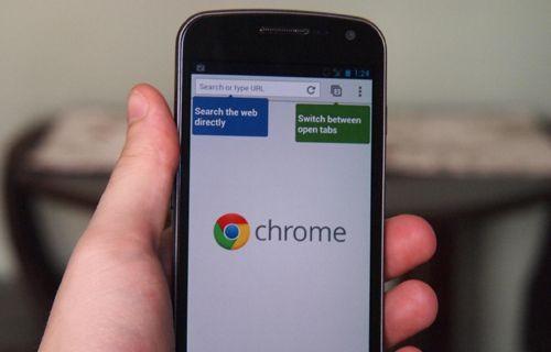 Android Chrome için yeni güncelleme yayınlandı