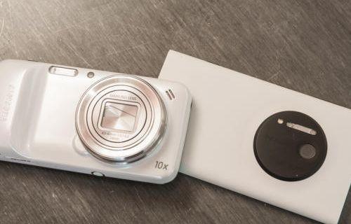 Nokia Lumia'nın 41 MP'i Galaxy Zoom'a karşı