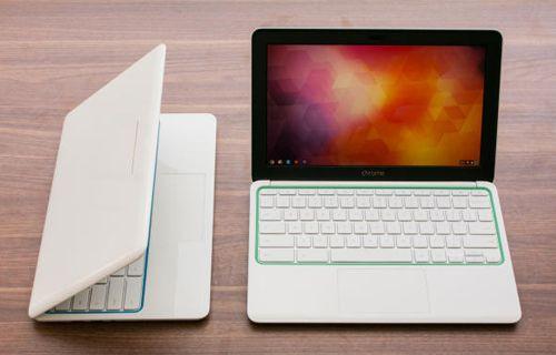 Google'ın renkli Chromebook'u ile tanışın