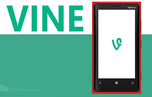 Vine uygulaması Windows Phone'da!