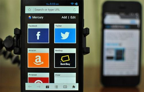 Android'in yeni gözdesi: Mercury Web Browser!