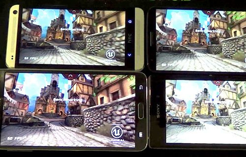 Hangisi güçlü? Galaxy Note 3 vs LG G2 vs Xperia Z1 vs HTC One