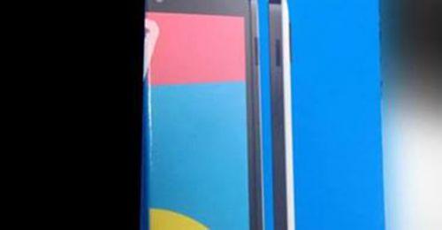 Nexus 5 paketinin ilk resmi görüntüleri