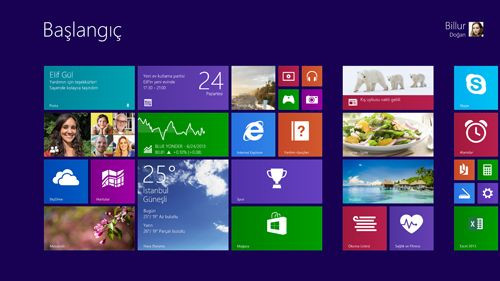Windows 8.1 çıktı!  İndirin