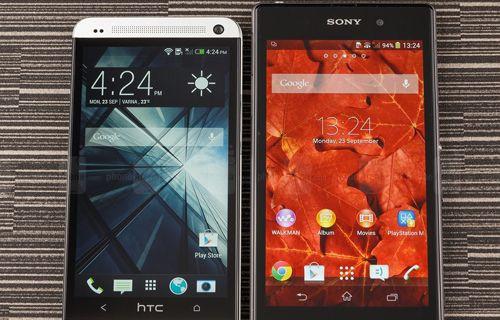 Hangisi daha iyi? HTC One vs Xperia Z1! (Video)