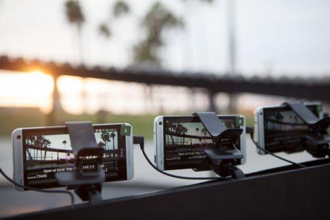 HTC One ile yapılmış en ilginç fotoğraf kabini! (Video)