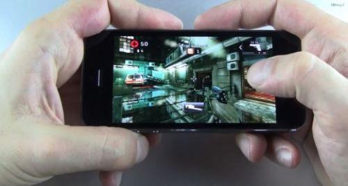 iPhone 5S ve iPad Retina zombi oyunu karşılaştırması! Video