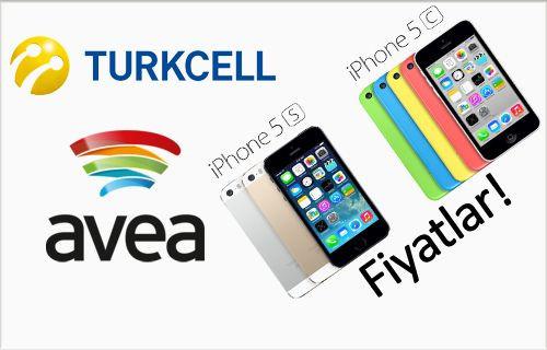Turkcell & Avea iPhone 5S, iPhone 5C fiyatları!