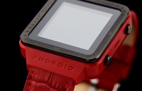 Android akıllı saat geliyor! (Video)