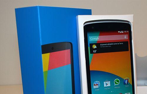Nexus 5 kutusundan çıkıyor! (Video)