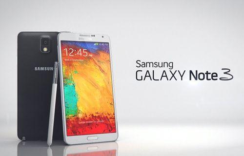Galaxy Note 3 renkleniyor!
