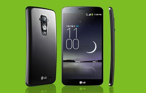 Esnek ekranlı telefon LG G Flex, çıkış tarihi ve fiyatı