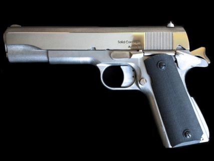 Dünyanın ilk 3D baskılı metal silahını gördünüz mü? Video