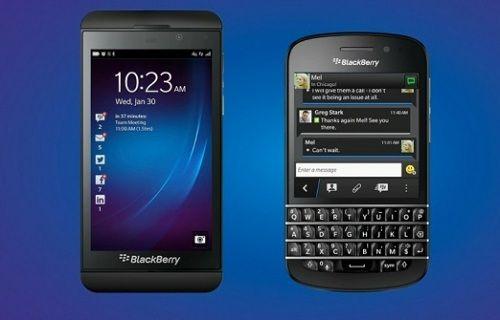 BlackBerry'den 4 çekirdekli telefonlar geliyor