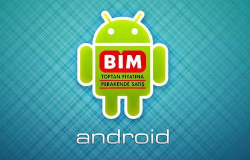 Android için 'Bim Aktüel' yayınlandı!
