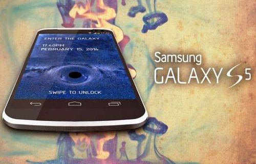 Galaxy S5'te kullanılacak metal çerçeve sızdırıldı mı?