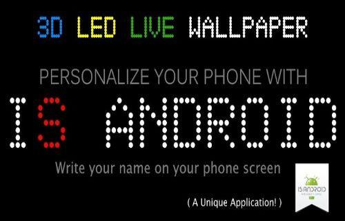 İsminizi telefon ekranınıza yazın!