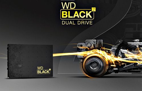 Dünyanın İlk SSD+HDD İkili Sürücüsü Western Digital'den geldi!