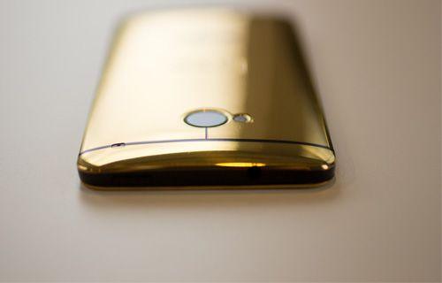 İşte altın rengiyle HTC One!