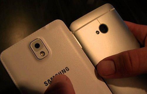 Galaxy Note 3 ve HTC One'ın hile yaptığı tespit edildi