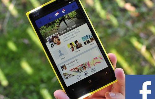 Windows Phone 8 için Facebook beta