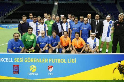 Turkcell'den 'Sesi Görenler' Ligi'ne destek