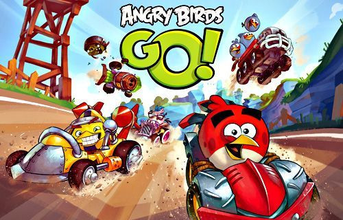 Android, iOS ve Windows Phone için Angry Birds Go çıktı!