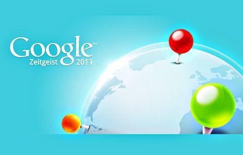 Google'da 2013 yılında en çok neleri aradık?
