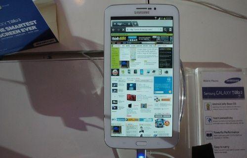 Samsung Galaxy Tab 3 bakın ne ile geliyor?