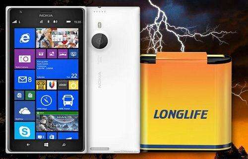 Lumia 1520'nin bataryası neler sunuyor?