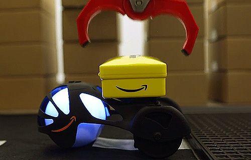 İşte Amazon'un insansız kara kargo taşıyıcısı!
