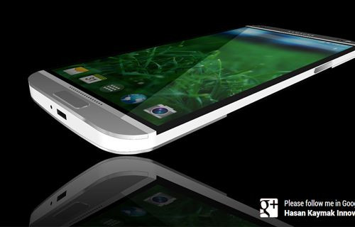 HTC One'dan ilham alınmış metal kasa Galaxy S5!