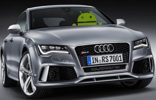 Androidli Audi geliyor!