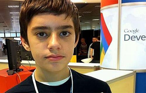 Mark Zuckerberg'e 12 yaşında bir rakip geldi!