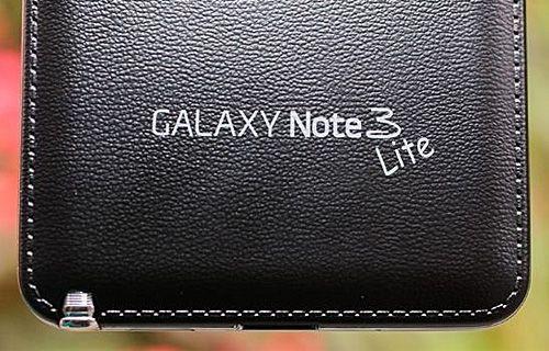 Galaxy Note 3 Lite'ın özellikleri belli oldu!