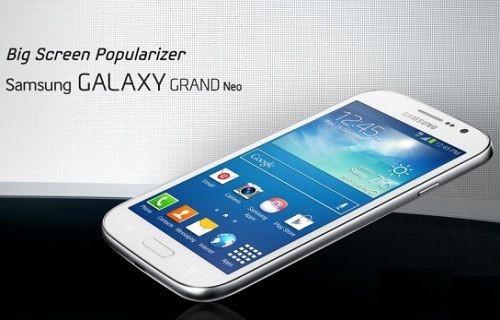 Galaxy Grand Neo'nun özellikleri netleşti!