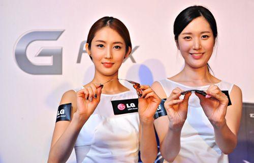 LG yeni yılda kavisli ekrana sahip telefon ve TV'leriyle büyüleyecek!