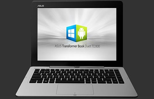 ASUS Transformer Book Duet TD300 ilk bakış