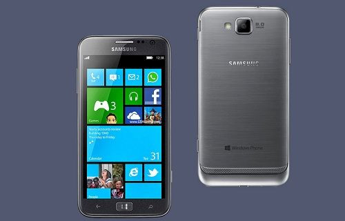 Samsung'dan Full HD ekranlı Windows Phone telefon!