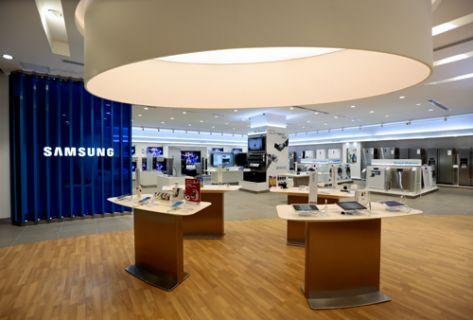 Samsung, bu mağazasını Avrupa ve Ortadoğu'da ilk İstanbul'da açtı