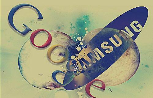 Google, Samsung'u fırçaladı!