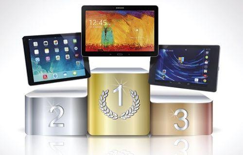 Samsung Galaxy Note 10.1, Apple'ın iPad Air'ini geçti!