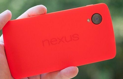 İşte kırmızı Nexus 5'in basın görseli!