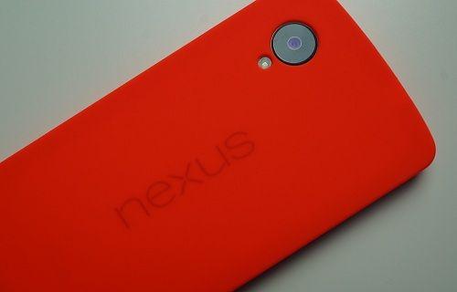 Kırmızı Nexus 5'ten yeni görüntüler
