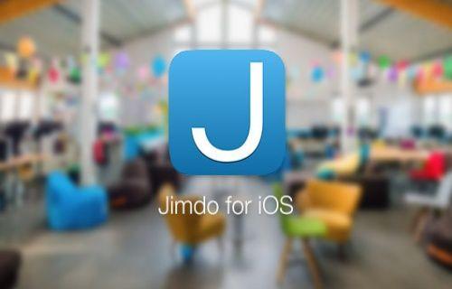 Jimdo App yeni blog özelliğine kavuştu!