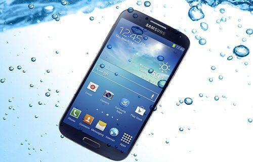 Samsung'un yeni akıllı telefonları su geçirmez olacak!