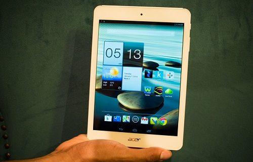 Acer Iconia A1 tablet modeli Android 4.4'e güncellemesi alacak