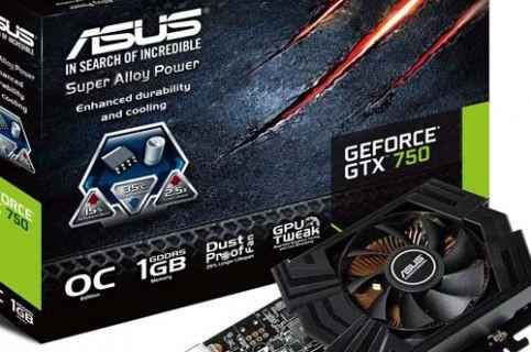 ASUS, GTX 750 Ti ve GTX 750 ekran kartlarını tanıttı